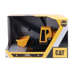 Машинка CAT Экскаватор фривил металл 51 см (желто-черный) Caterpillar