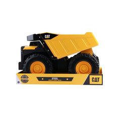 Машинка CAT Самосвал фривил металл 51 см (желто-черный) Caterpillar