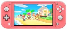 Игровая приставка Nintendo Switch Lite Coral + код Animal Crossing: New Horizons + NSO (3 мес)