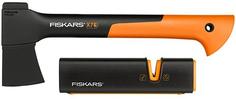 Топор Fiskars Х7 + точилка