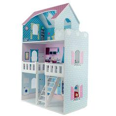 Кукольный домик PAREMO Валери Шарм с интерьером и мебелью 6 предметов (PD318-22)