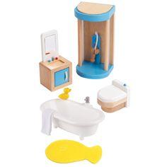 Мебель для домика Hape Ванная комната (E3451_HP)