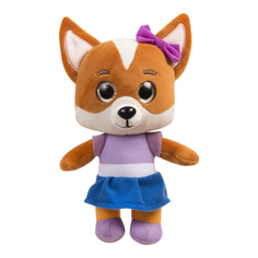 Мягкая музыкальная игрушка Кошечки-Собачки Мия 25 см цвет: оранжевый