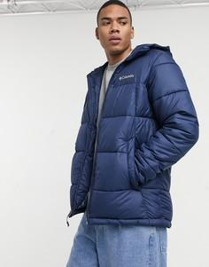 Темно-синяя куртка с капюшоном Columbia Pike Lake-Темно-синий