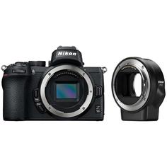 Фотоаппарат системный Nikon Z 50 + FTZ Adapter