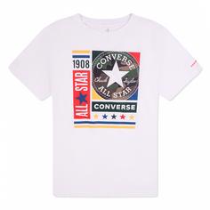 Подростковая футболка Camo Mixed Boxes Tee Converse