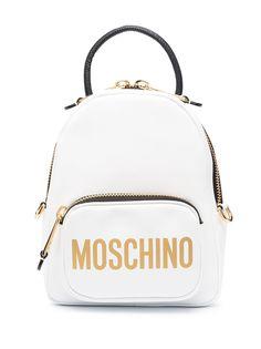 Moschino мини-рюкзак с логотипом