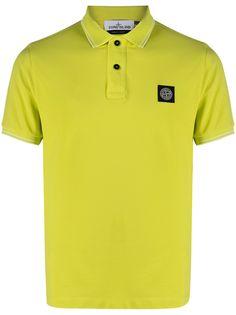 Stone Island рубашка поло с логотипом