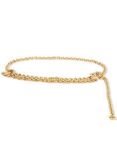 Chanel Pre-Owned ремень-цепочка с логотипом CC