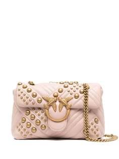 Pinko декорированная сумка на плечо