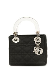 Christian Dior мини-сумка Lady Dior Cannage pre-owned