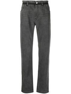 Fendi прямые джинсы с поясом