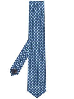 Salvatore Ferragamo галстук Ox с принтом