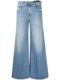 Diesel джинсы широкого кроя с завышенной талией