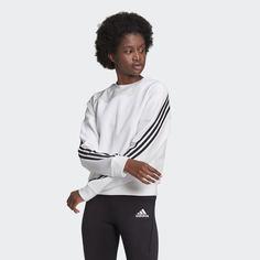 Свитшот adidas Sportswear Wrapped 3-Stripes