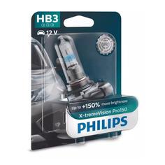 Лампа автомобильная галогенная PHILIPS 9005XVPB1, HB3, 12В, 60Вт, 1шт