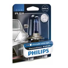 Лампа автомобильная галогенная PHILIPS 12258DVB1, H1, 12В, 55Вт, 1шт