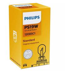 Лампа автомобильная накаливания PHILIPS 12085C1, PS19W, 12В, 19Вт, 1шт