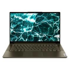 "Ноутбук-трансформер Lenovo Yoga 7 14ITL5, 14"", IPS, Intel Core i7 1165G7, Intel Evo 2.8ГГц, 16ГБ, 1ТБ SSD, Windows 10, 82BH007SRU, темно-зеленый"