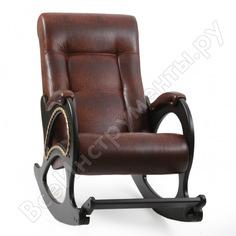 Кресло-качалка комфорт модель 44, венге, кожзам antik crocodile 60859