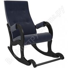 Кресло-качалка комфорт модель 707, венге, ткань verona denim blue 75051