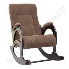 Кресло-качалка комфорт модель 44, венге, ткань verona brown 63911