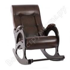 Кресло-качалка комфорт модель 44 без лозы, венге, кожзам antik crocodile 64062