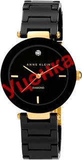 Женские часы в коллекции Diamond Женские часы Anne Klein 1018BKBK-ucenka
