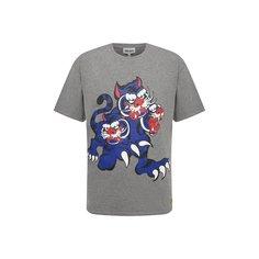 Хлопковая футболка Kenzo x Kansai Yamamoto Kenzo
