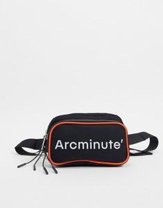 Сумка-кошелек на пояс с логотипом Arcminute Ryan-Черный цвет