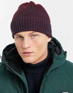 Двухцветная шапка-бини Boardmans-Зеленый цвет