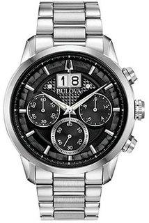 Японские наручные мужские часы Bulova 96B319. Коллекция Sutton