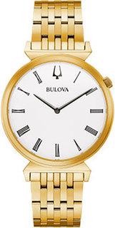 Японские наручные мужские часы Bulova 97A153. Коллекция Classic
