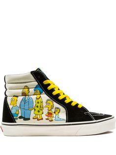 Vans кеды Sk8-Hi The Simpsons