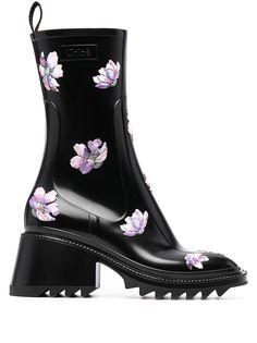Chloé резиновые ботинки Betty