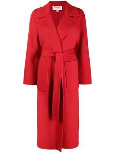 Michael Michael Kors пальто с запахом и поясом