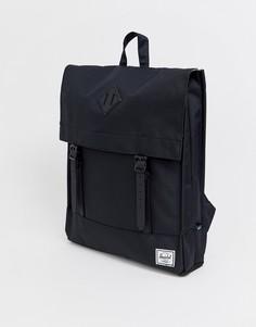 Черный рюкзак Herschel Supply Co Survey