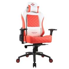Кресло компьютерное игровое ZONE 51 СПАРТАК ЛЕГЕНДА White-Red Z51-SPRT2-WR