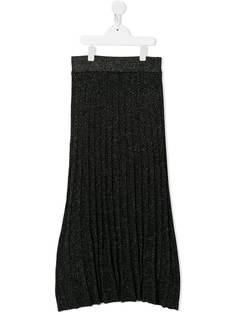 Molo плиссированная юбка Beatrice с эффектом металлик