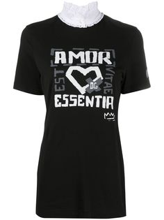 Dolce & Gabbana футболка с принтом Amore Essentia