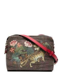 Etro сумка через плечо с цветочным принтом