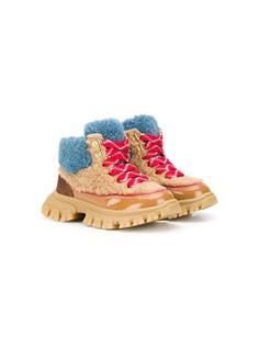 Mi Mi Sol ботинки с искусственным мехом