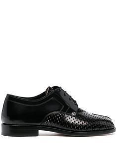 Maison Margiela ботинки Tabi на шнуровке
