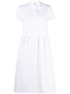 Aspesi поплиновое платье-рубашка