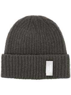We11done шапка бини с нашивкой-логотипом