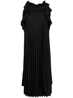 P.A.R.O.S.H. платье с оборками и плиссировкой