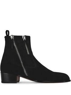 Giuseppe Zanotti ботинки на молнии