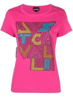 Just Cavalli футболка с графичным логотипом