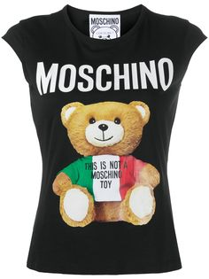 Moschino топ Teddy Bear с принтом