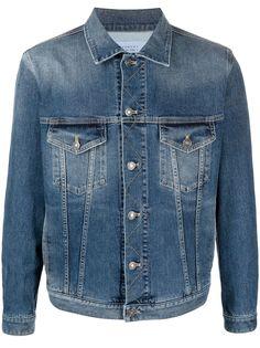 Givenchy джинсовая куртка с логотипом